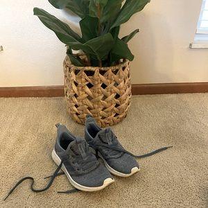 Blue Adidas Cloudfoam Sneakers